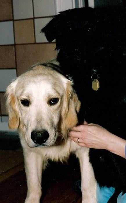 Katie with Eli