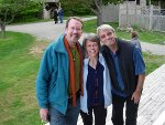 Stephen Silha, Linda and Bill Weaver at MtM 09!