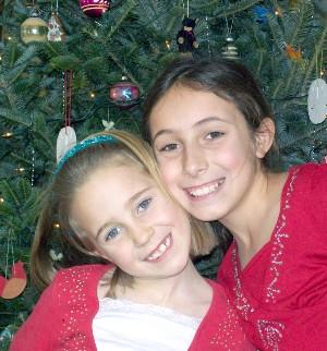 Kayla & Kira, Christmas 2010